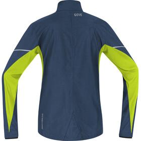 GORE WEAR R3 Partial Gore Windstopper - Chaqueta Running Hombre - verde/azul